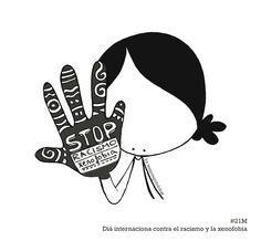 Contribuyamos a un mundo en el que todos, todasseamos tratadas con dignidad. Podamos movernos libremente. Nos reconozcamos iguales en derechos. Por un mundo libre de racismo y xenofobia. Eeeegunon mundo!! ::: #21M Día internacionalcontra el Racismo y la Xenofobia. #21M Arrazakeria eta Xenofobiaren kontrako nazioarteko eguna :::