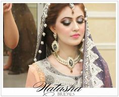Bridal makeup at Natasha Salon