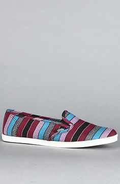 $55 The Slip On Lo Pro Sneaker in Black Guate Stripe by Vans Footwear at karmaloop.com - Use repcode SMARTCANUCKS at the checkout for an extra 20% OFF on Karmaloop.com