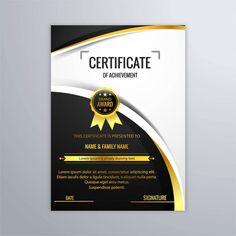 Modelo De Certificado Ornamentais Pinterest Certificate - Luxury karate certificate template design