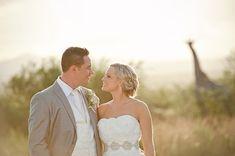 Elegant safari wedding | SouthBound Bride | http://www.southboundbride.com/real-wedding-at-zulu-nyala-game-lodge-janlyn-grant | Credit: Jacki Bruniquel