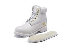 timberland boots for women, white timberlands, white timberland boots, white and gold timberland 6 inc womens, timberland snow boots womens 6 inch with gold