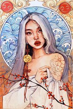 Art Drawings Sketches, Cute Drawings, Pretty Art, Cute Art, Arte Sketchbook, Portrait Art, Aesthetic Art, Cartoon Art, Painting & Drawing