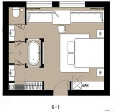 Master bedroom Suite parentale
