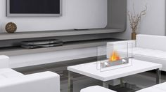 Metropolitan Fireplace   Zuri Furniture $160