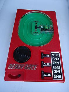 Vintage Plastic Derby Race Wind Up Horse Racing 1977 Free Shipping! - http://hobbies-toys.goshoppins.com/electronic-battery-wind-up-toys/vintage-plastic-derby-race-wind-up-horse-racing-1977-free-shipping/