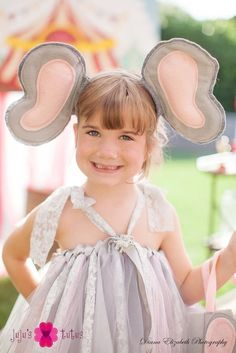 how to make elephant ears for costume