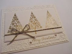 Stampin Gala: Stampin Up!! Golden Festival of Trees and Sale on Selected Products!!!