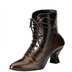 1880s Ankle Boot Victorian Shoe