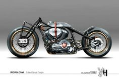 pinterest.com/fra411 #Design / Indian Chief by Holographic Hammer