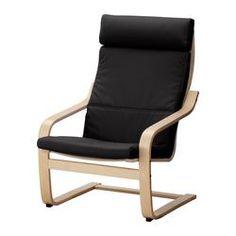 $59.99 POÄNG Chair cushion - Granån black - IKEA