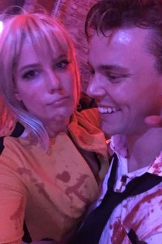 Australiannetwork reports, Is Ashton Irwin ready to mingle? Rumor has it that he's dating singer Halsey. The Australian drummer admitted months ago that he is very much single. Ashton Irwin, 5sos Ashton, 1d And 5sos, Epic Halloween Costumes, Best Celebrity Halloween Costumes, Halloween Halloween, Kid Costumes, Children Costumes, Vintage Halloween
