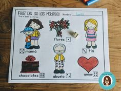 Celebrating Mother's Day in Spanish - Spanish Studio Spanish Mothers Day, Learning A Second Language, Spanish Teaching Resources, Spanish Songs, Feeling Excited, Student Engagement, Hands On Activities, Writing Skills, Pictures To Draw