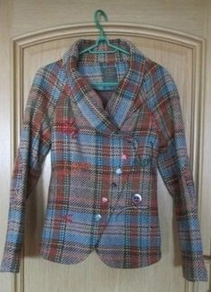 Kup mój przedmiot na #vintedpl http://www.vinted.pl/damska-odziez/plaszcze/15928912-krotki-oryginalny-plaszczyk-w-krate-kolorowe-guziki-hotfun-joe-browns