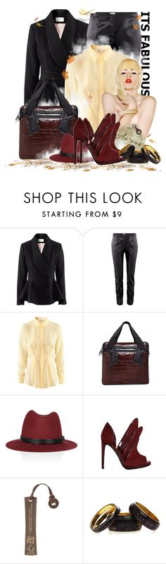 """It's Fabulous!!"" by keti-lady ❤ liked on Polyvore featuring H&M, Alejandro Ingelmo, rag & bone, Swingline, Antik Batik, handbags, hats, 2012, alejandro ingelmo and jackets"