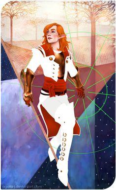 2014.12.26 Lavellan character card by agata-j on DeviantArt
