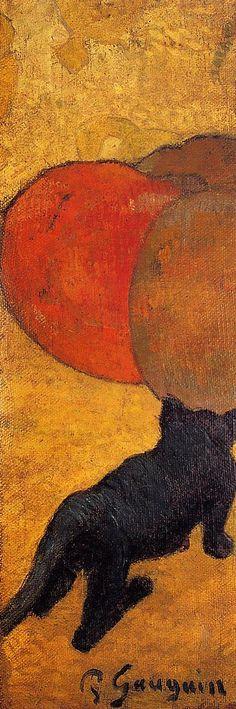A little cat, 1888, Paul Gauguin