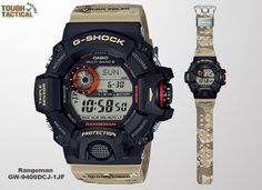 The New GW-9400DCJ-1 Desert Camo Series base on regular Rangeman GW-9400 series and came with new looks and features.