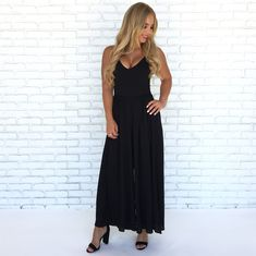 dfd490a818a6 Day Trip Jumpsuit in Black. Dainty Hooligan Boutique