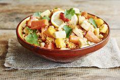 Le couscous végétarien, vous pouvez le préparer avec les légumes classiques de la recette du couscous, mais vous pouvez aussi l'adapter avec ces délicieux légumes anciens que l'on retrouve désormais sur nos marchés.