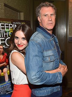 Star Tracks: Wednesday, August 26, 2015 | HUGGING OTHER PEOPLE | Newly engaged Alison Brie embraces funny man producer Will Ferrell at a West Hollywood screening of their new film Sleeping with Other People on Tuesday.