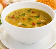 Ricetta Minestrone (translate for English) Mulligatawny, Soup Recipes, Vegetarian Recipes, Cooking Recipes, Healthy Recipes, Dairy Recipes, Healthy Meals, Sopas Light, Spicy Lentil Soup