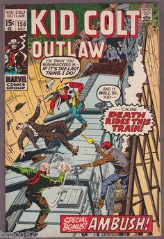 1970 Marvel Comics KID COLT OUTLAW #150 comic book