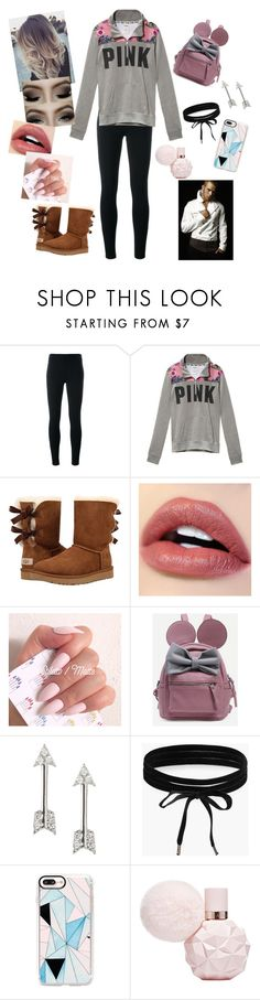 """""""Aurora Cullen and Emmett❤"""" by annaconley on Polyvore featuring Ermanno Scervino, Victoria's Secret, UGG, Banana Republic, Boohoo, Casetify and Lutz Huelle"""