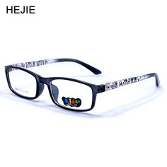 Fashion Kids Clear Lens Optical Eyeglasses Frames Flexible Spring Hinge Boys Girls Size 48-14-125 Oculos de crianca Y1151 #Affiliate