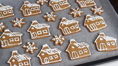 Gingerbread Cookies, Deserts, Goodies, Projects To Try, Ice Cream, Cake, Christmas, Food, Sweets