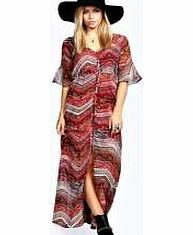 boohoo Liz Button Front Woven Print Maxi - red azz24630 Give your look an arty makeover in this Atec print maxi dress , featuring frill sleeves and a sultry split front. Team it with trend-led tread boots , a tassel trim cross body bag and floaty fedora ha http://www.comparestoreprices.co.uk/dresses/boohoo-liz-button-front-woven-print-maxi--red-azz24630.asp