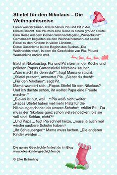 Nikolaus gedicht mama