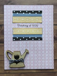 Dares, Thinking Of You, Card Making, Stamp, Scrapbook, Create, Blog, Thinking About You, Stamps