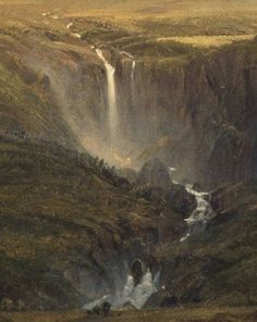 Detail fromCotopaxi, Frederic Edwin Church, 1855