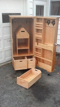 Equestrian Tack Locker - Woodworking creation by AnthonyG #woodworking