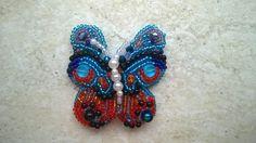 Beaded butterfly ...
