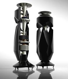 Altec Lansing Omni - a concept design by Nuno Teixeira. Each has a woofer, a…