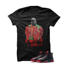 """Biggie Marvin The Martian 2 Black T Shirt. The Biggie Marvin The Martian Black T Shirt is a premium quality sneakerhead t shirt. It matches with the Air Jordan 7 Retro """"Marvin The Martian"""" Sneakers.***************************************************************illCurrency is a premium quality custom streetwear and sneakerhead clothing brand. For custom t shirts email: orders@illcurrency.comFOLLOW US ON INSTAGRAM: @illCurrencyFOLLOW US ON TWITTER: @ill_CurrencyLIKE US ON FACEBOOK:…"""
