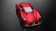 Nissan 2020 Vision Gran Turismo Heading To Tokyo Show In A New Red Shade