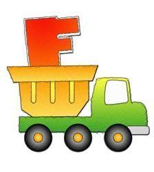 Alfabeto de camiones.