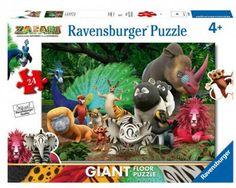 Puzzle Ravensburger Zafari 24 pz da Pavimento Floor Puzzle, Ravensburger Puzzle, Flooring, Christmas Ornaments, Holiday Decor, Ebay, Home Decor, Products, Environment