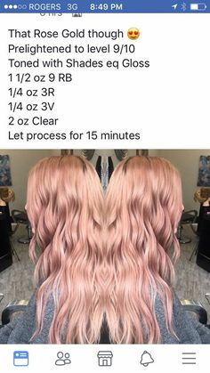 Hair Colors Rose Gold - Hair Colors Rose Gold Gk Hair Color Protection Moisturizing Shampoo And Conditioner Duo - Redken Hair Color, Aveda Color, Rose Gold Hair Brunette, Rose Hair, Matrix Hair Color, Hair Color Formulas, Redken Color Formulas, Redken Hair Products, Redken Shades