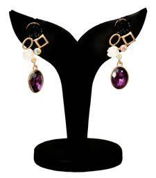 Buy multi stone earring danglers-drop online