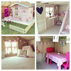 Pretty pink playhouse
