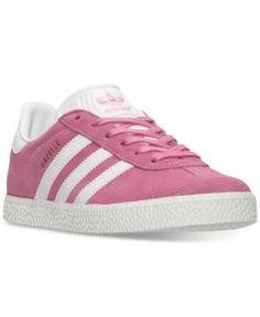 Adidas Gazelle zapatillas casuales niñas de linea de meta volver a