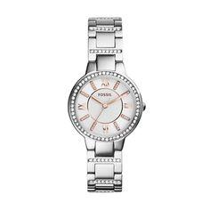 Fossil Uhr ES3741 für Damen aus der Kollektion Frühjahr 2015. Wir bieten Ihnen diese Uhr mit einer persönlichen Gravur. Wir gravieren Text und Grafiken. Mehr...