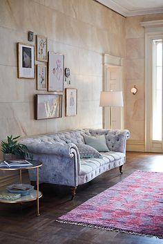 Anthropologie Abstracted Olivette Sofa