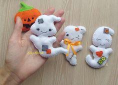 Ornement de fantôme ornement de Halloween feutre par DevelopingToys