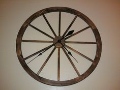 wagon wheel craft ideas wagon wheel clock craft ideas wagon wheels 5689