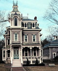 The George Lord Little House, circa 1875, located in the Summer Street Historic District of Kennebunk,
